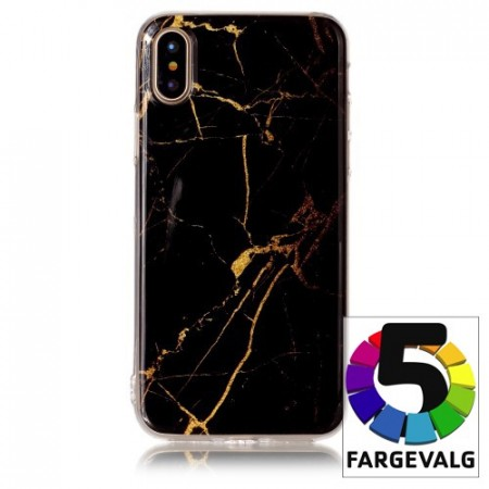 iPhone X 5,8 Deksel Marmor 2