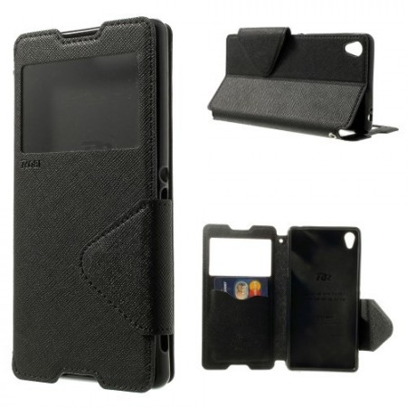 Slimbook Etui for Sony Xperia Z3 Roar Svart
