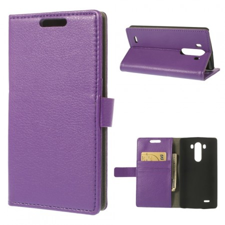 Slimbook Etui for LG G3 Lilla