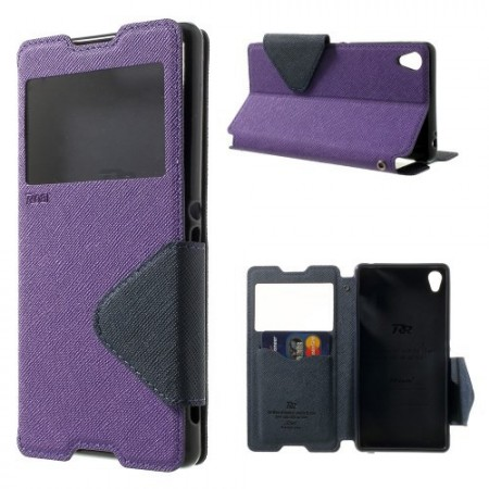 Slimbook Etui for Sony Xperia Z3 Roar Lilla