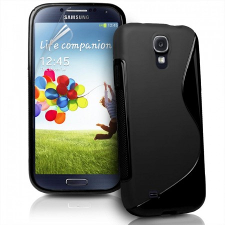 S-line Deksel for Samsung Galaxy S4 Svart