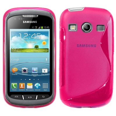 S-Line Deksel for Samsung Galaxy Xcover 2 Rosa