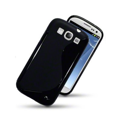 S-line Deksel for Samsung Galaxy S3 Svart