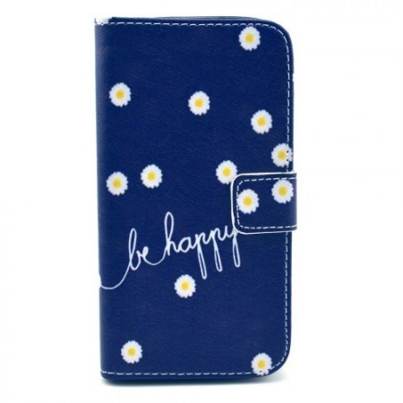 Etui for Samsung Galaxy S4 Lommebok Be Happy 1