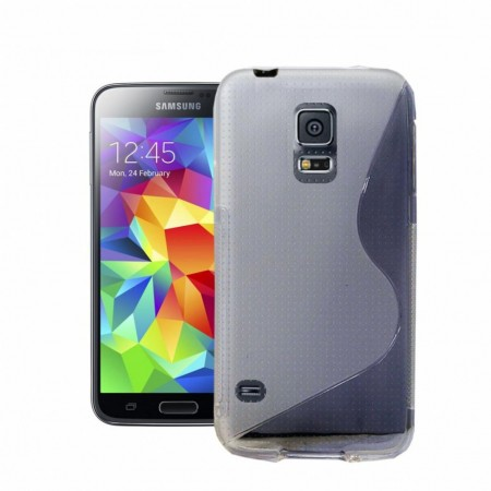 S-line Deksel for Samsung Galaxy S5 Transparent