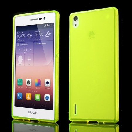 Deksel for Huawei Ascend P7 Lime