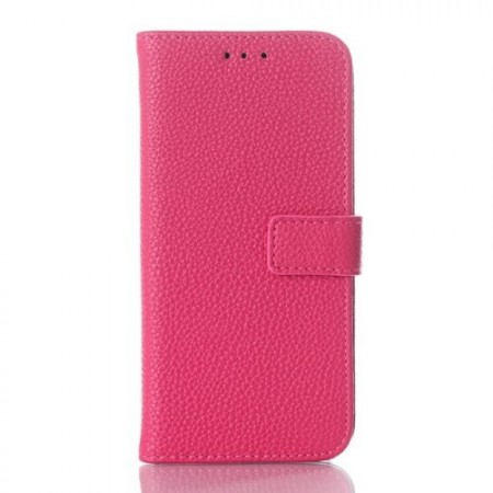 Etui m/kortlommer for HTC One Mini 2 Classic Lychee Rosa