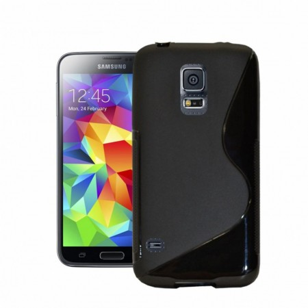 S-line Deksel for Samsung Galaxy S5 Active Svart