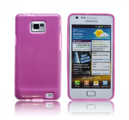 Deksel for Galaxy S2 Jelly Lilla