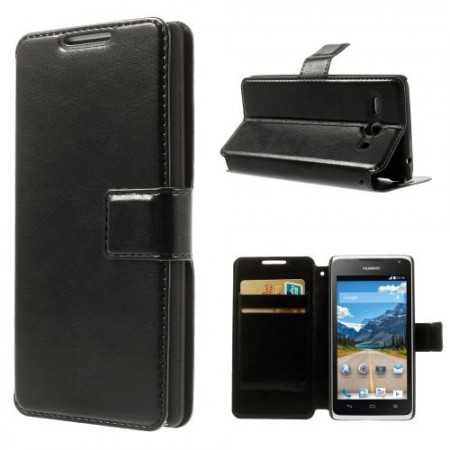 Slimbook Etui for Huawei Ascend Y530 Svart
