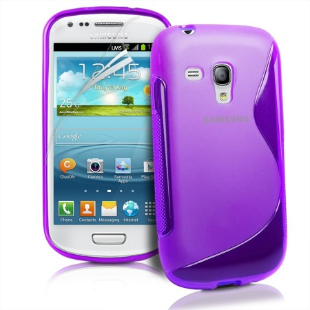 Deksel for Samsung Galaxy Ace Style S-line Lilla