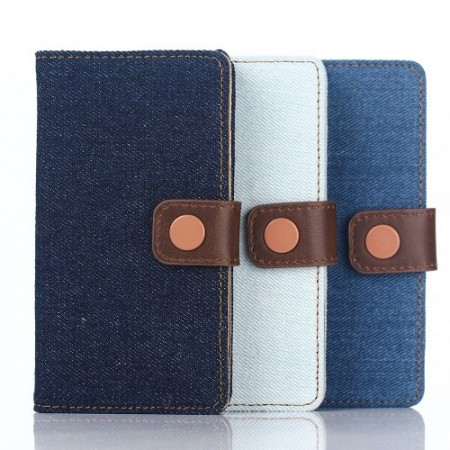 Lommebok Etui for Sony Xperia Z5 Compact Denim