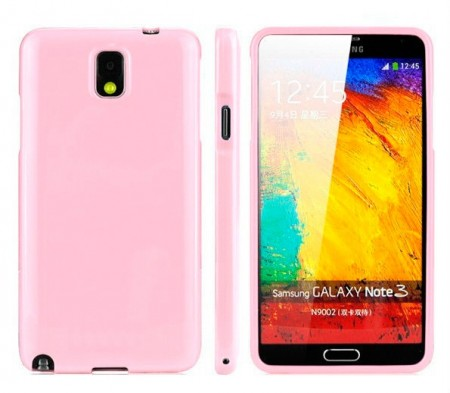Deksel for Samsung Note 3 Rosa