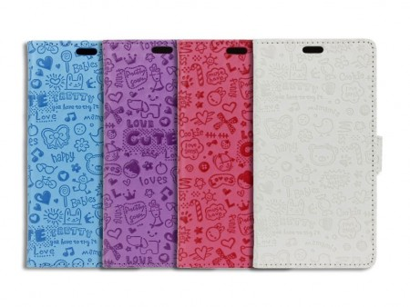 Lommebok Etui for Sony Xperia X Love