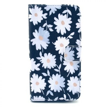 Etui for Samsung Galaxy S5 Lommebok Blomster 12