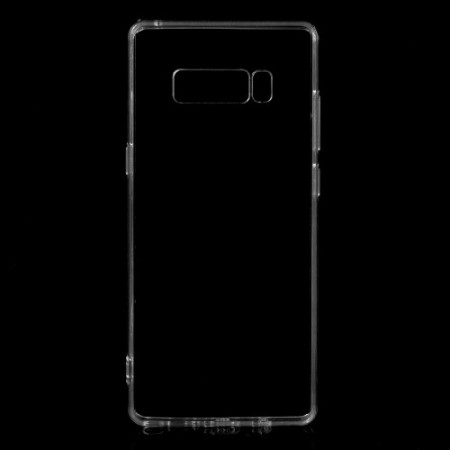 Galaxy Note 8 Hybrid Deksel Transparent