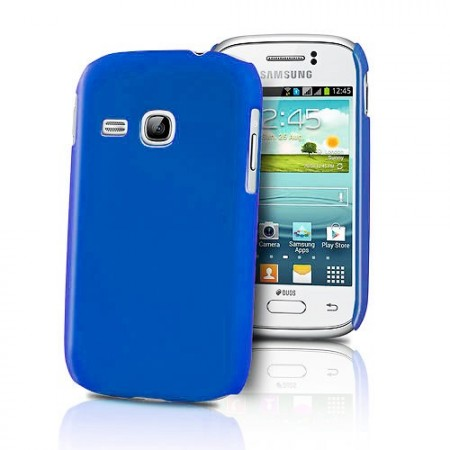 HardCase Deksel for Galaxy Young (S6310) Blå