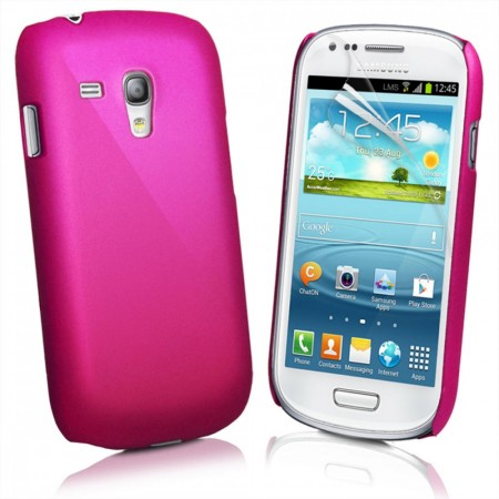 Deksel for Samsung Galaxy S3 Mørk Rosa