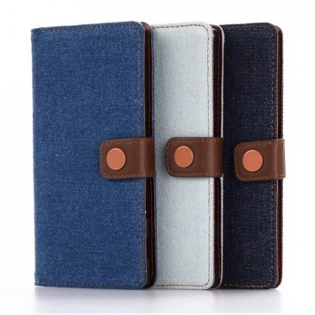 Lommebok Etui for Sony Xperia XZ Denim