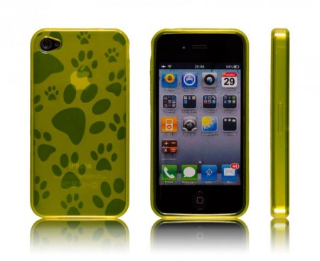 Gel Case for iPhone 4 Gul Pote
