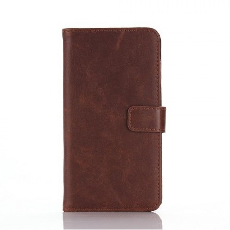 Etui m/kortlommer for Galaxy A5 Classic Mørk Brun