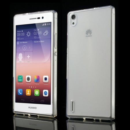 Deksel for Huawei Ascend P7 Transparent