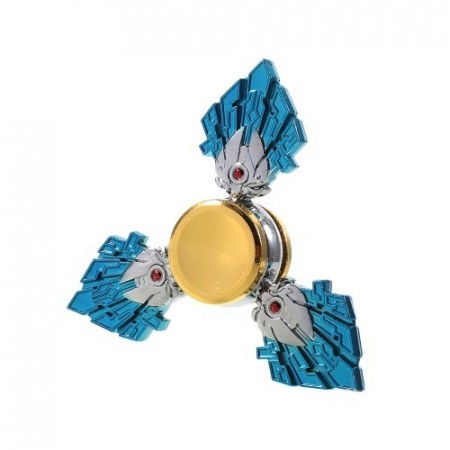 Fidget Spinner Collector Trident Blue Alu