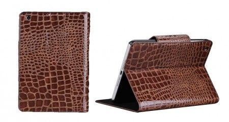 Mappe Etui for iPad Mini Croco Brun