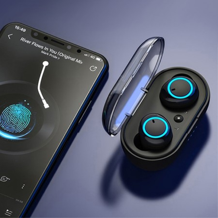 Bluetooth Handsfree Stereo Øreplugger Mini Buds