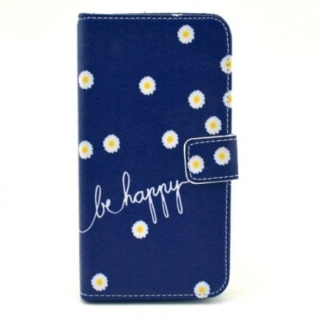 Etui for Samsung Galaxy S5 Lommebok Happy 1