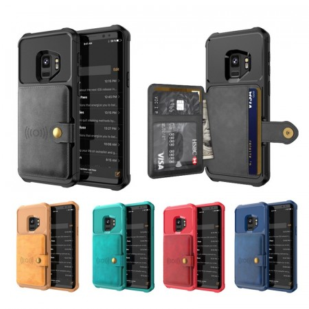 Galaxy S9+ (Pluss) Deksel Armor Wallet