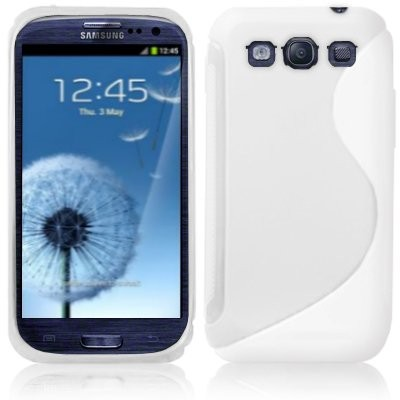 S-line Deksel for Samsung Galaxy S3 Hvit