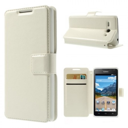 Slimbook Etui for Huawei Ascend Y530 Hvit