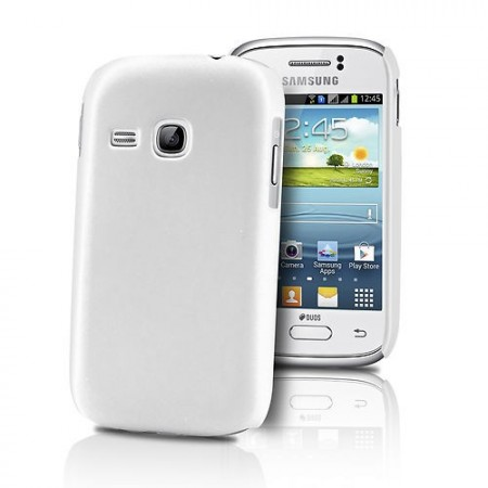 HardCase Deksel for Galaxy Young (S6310) Hvit