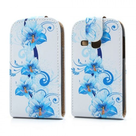 Flipp Etui for Galaxy Young (S6310) Blomster 3