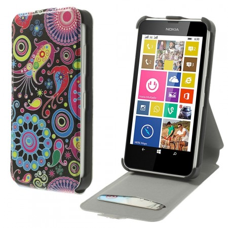Etui for Lumia 630 Flipp Hippie