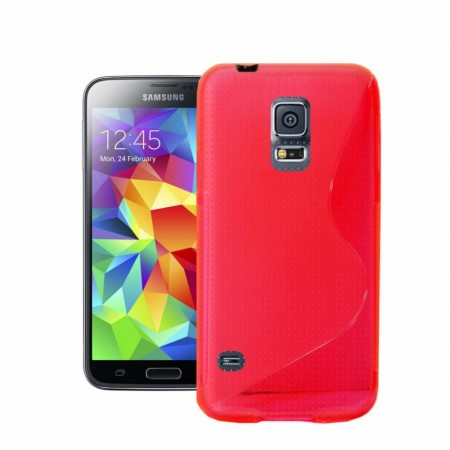 S-line Deksel for Samsung Galaxy S5 Rosa