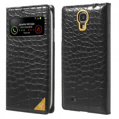 Deksel Etui for Samsung Galaxy S4 Croco