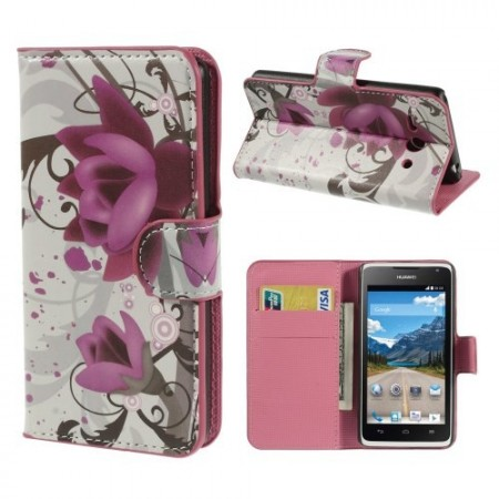 Etui for Huawei Ascend Y530 Lommebok Blomster 2