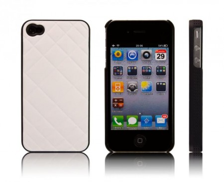 Deksel for Iphone 4/4S Pute Hvit