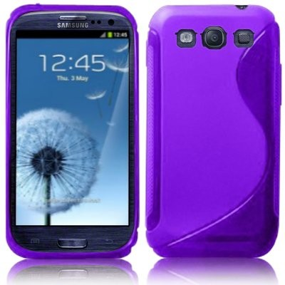 S-line Deksel for Samsung Galaxy S3 Lilla