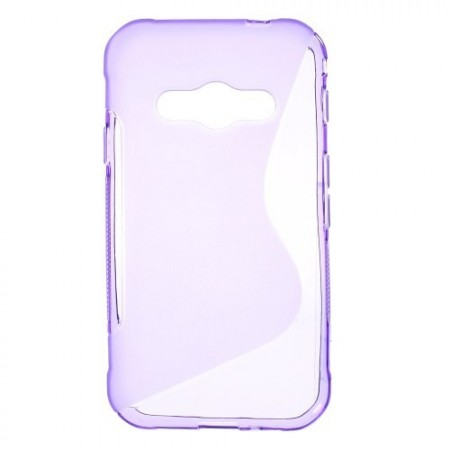 Deksel for Samsung Galaxy Xcover 3 S-Line Lilla