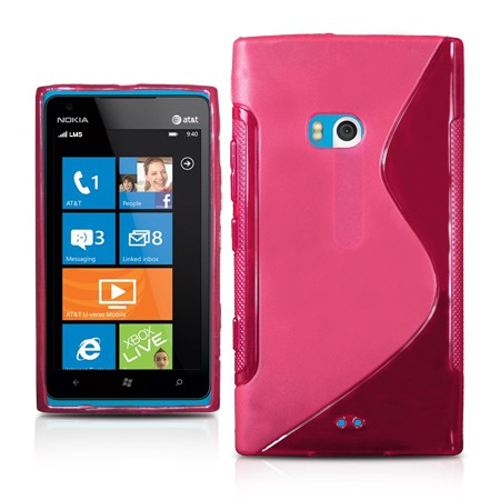 Deksel for Nokia Lumia 900 S-Line Rosa