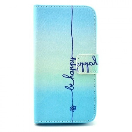 Etui for Samsung Galaxy S4 Lommebok Be Happy 2
