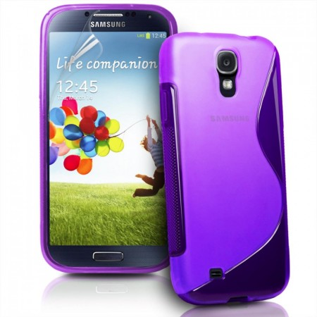 S-line Deksel for Samsung Galaxy S4 Mini Lilla