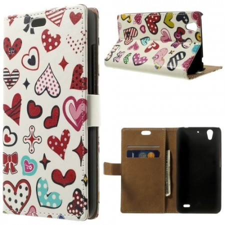 Etui for Huawei Ascend G630 Lommebok Love 2