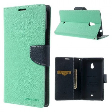 Lommebok Etui for Lumia 1320 Mercury Mint