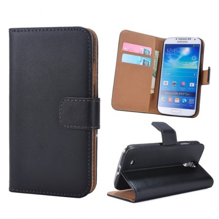 Etui m/kortlommer for Galaxy S4 Genuine