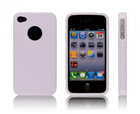 Deksel for iPhone 4 & 4S Classic Hvit