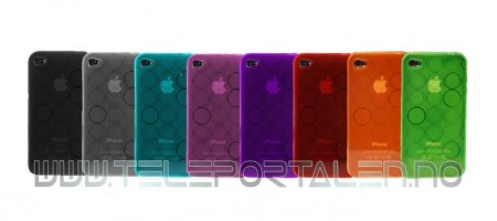 Gelcase Deksel for iPhone 4/4S Sirkel